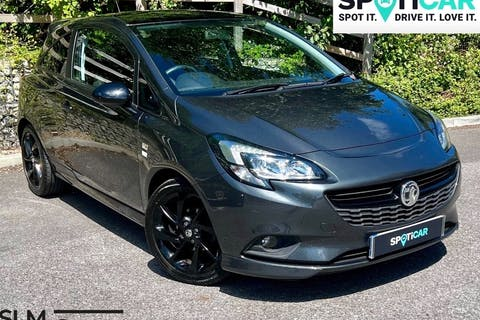 Grey Vauxhall Corsa 1.4 Limited Edition Ecoflex 2017