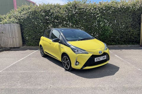 Yellow Toyota Yaris VVT-i Yellow Edition 2017