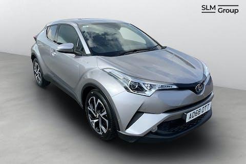 Silver Toyota C-hr Design 2018