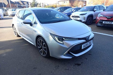 Silver Toyota Corolla VVT-i Excel 2019