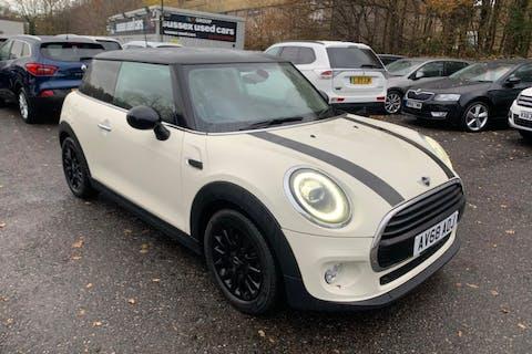 White MINI Hatch 1.5 Cooper 2018