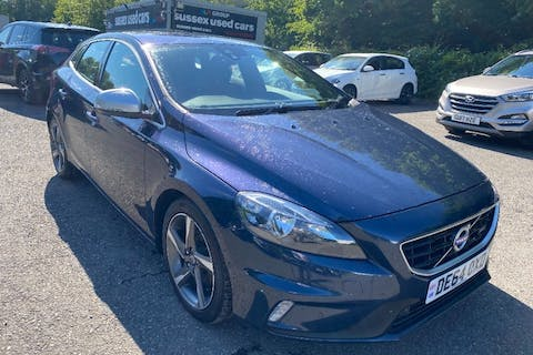 Blue Volvo V40 1.6 D2 R-design 2014