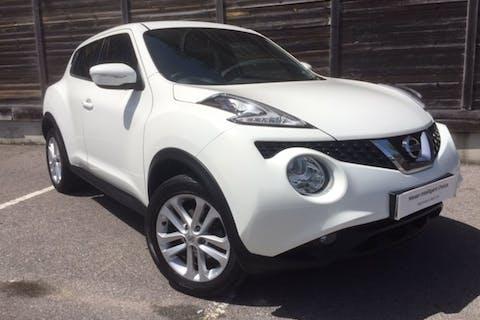 White Nissan Juke N-connecta Dig-t 2016