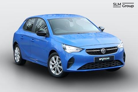 Blue Vauxhall Corsa 1.2 SE 2021