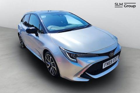Silver Toyota Corolla VVT-i Excel 2019