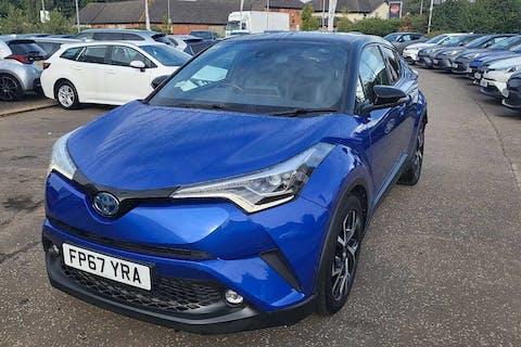 Blue Toyota C-HR Dynamic 2017