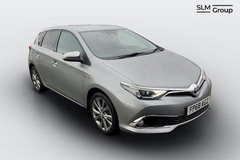 Grey Toyota Auris VVT-i Excel 2018