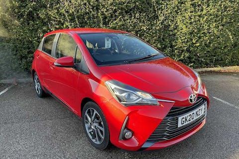 Red Toyota Yaris VVT-i Y20 2020