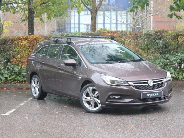 Brown Vauxhall Astra 1.6 SRi Nav CDTi S/S 2018