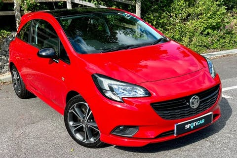 Red Vauxhall Corsa 1.4 Red Edition S/S 2018