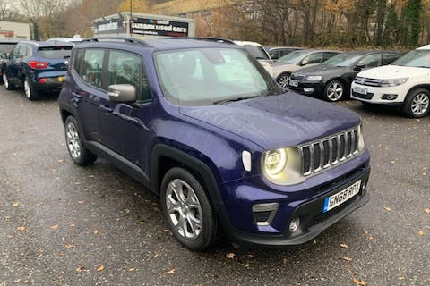 Blue Jeep Renegade 1.0 Limited 2018