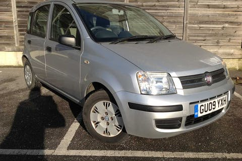 Grey FIAT Panda Dynamic Eco 2009