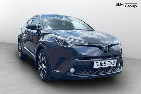 Grey Toyota C-hr Design 2019