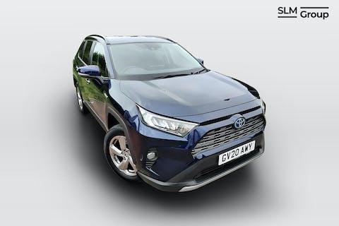 Blue Toyota Rav4 VVT-i Design 2020