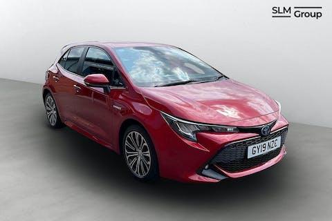 Red Toyota Corolla VVT-i Design 2019