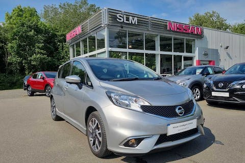 Silver Nissan Note Tekna Dig-s 2015