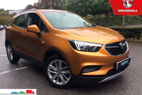 Orange Vauxhall Mokka X 1.4 Design Nav S/S 2017