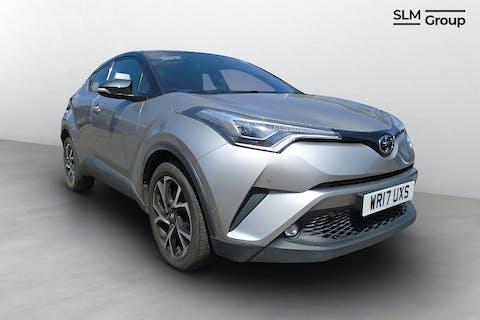 Silver Toyota C-HR Dynamic 2017