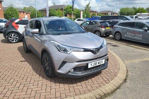 Silver Toyota C-HR Excel 2018