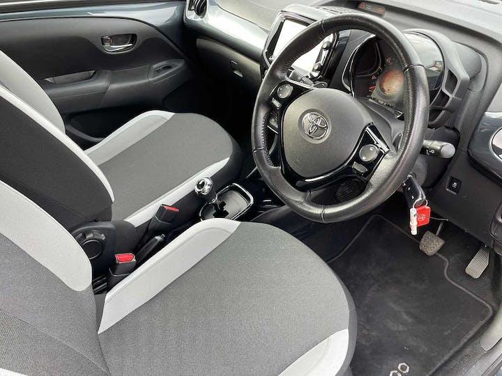 Grey Toyota Aygo VVT-i X-press X-shift 2018