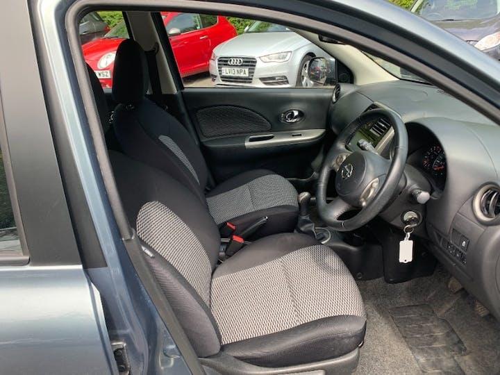 Grey Nissan Micra 1.2 Acenta 2014