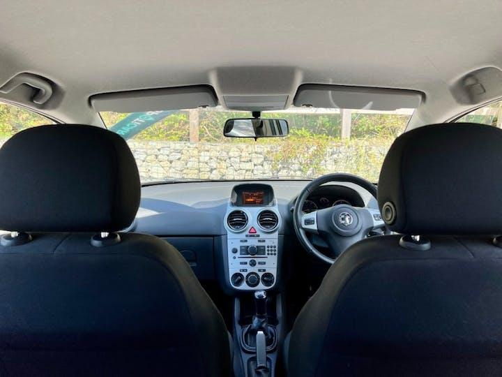 Silver Vauxhall Corsa 1.2 Energy Ac 2013
