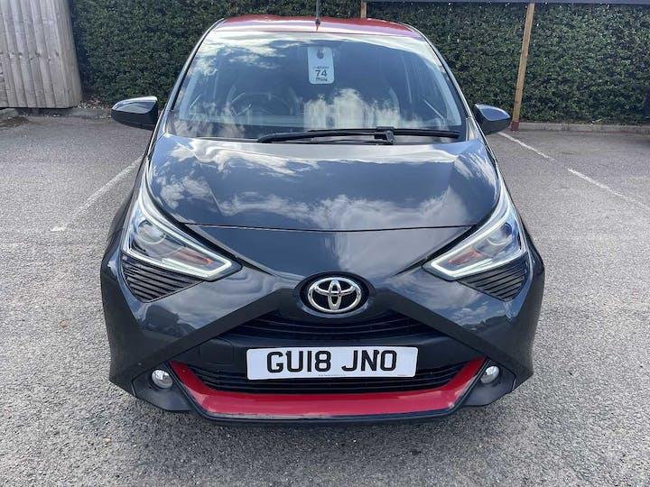 Grey Toyota Aygo VVT-i X-press 2018