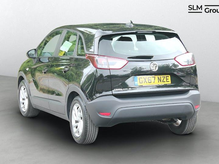 Black Vauxhall Crossland X 1.2 SE 2017