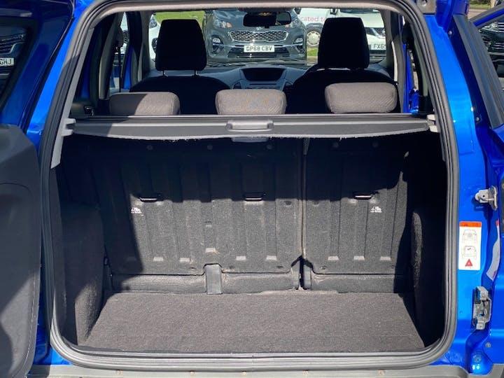Blue Ford Ecosport 1.0 Zetec 2015