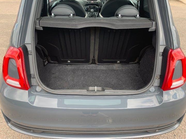 Grey FIAT 500 1.2 S 2018