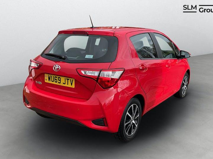 Red Toyota Yaris VVT-i Icon Tech 2019