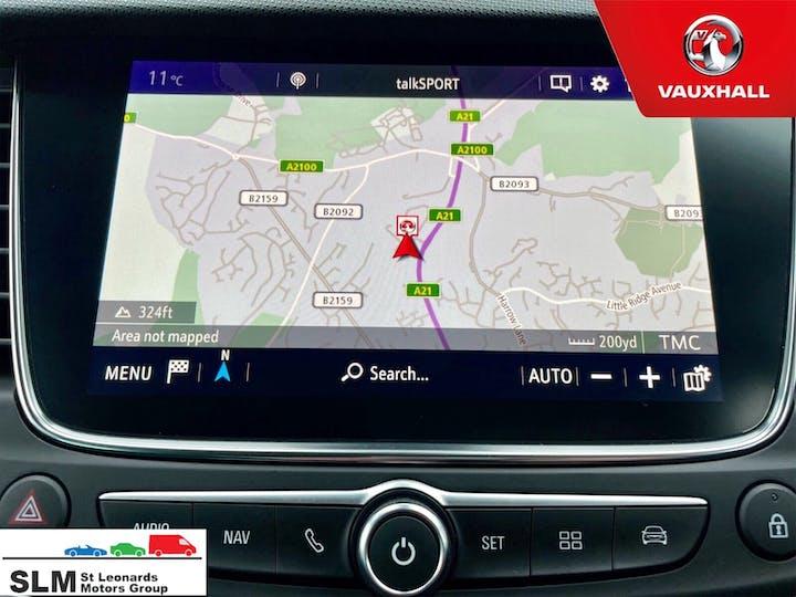 Blue Vauxhall Crossland X 1.6 Tech Line Nav Ecotec S/S 2018