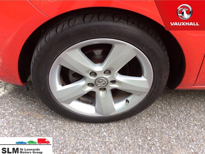 Red Vauxhall Meriva 1.4 Tech Line 2016