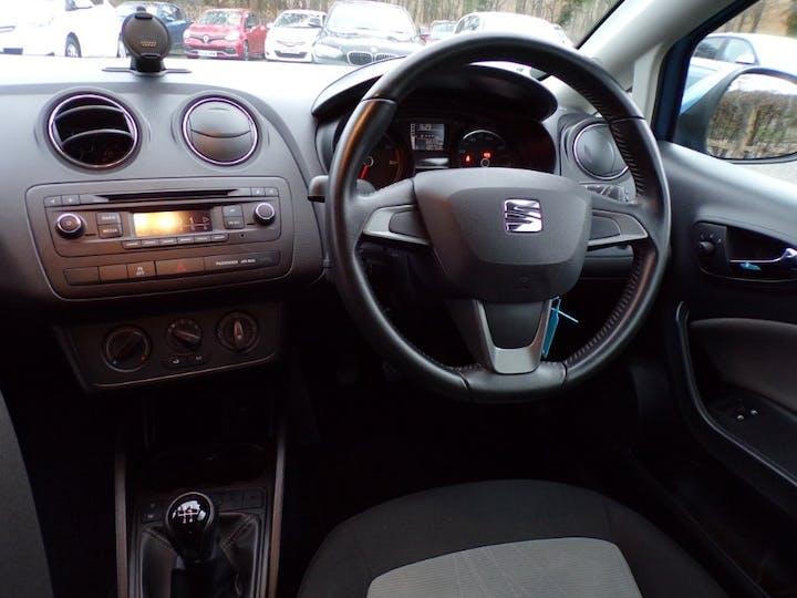 Blue SEAT Ibiza 1.4 Toca 2014