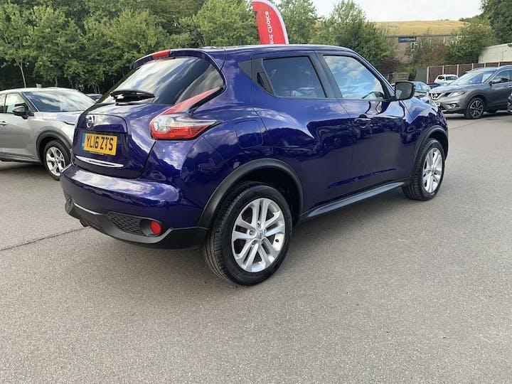 Blue Nissan Juke N-connecta Dig-t 2016