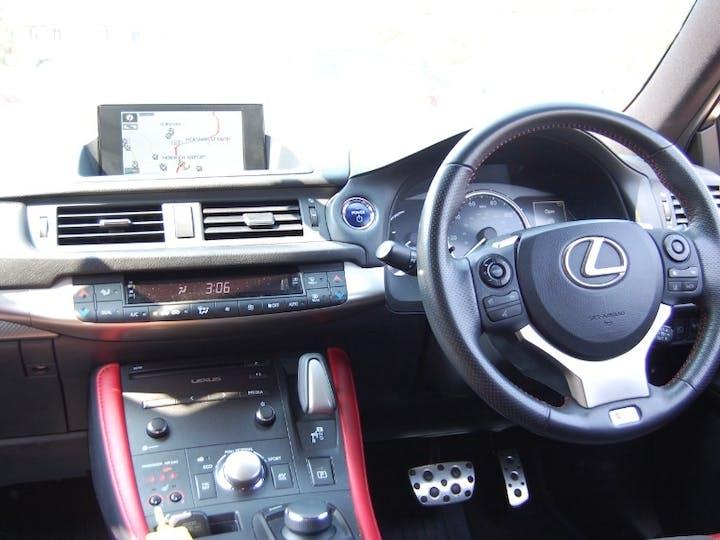 Black Lexus Ct 1.8 200h F Sport 2018