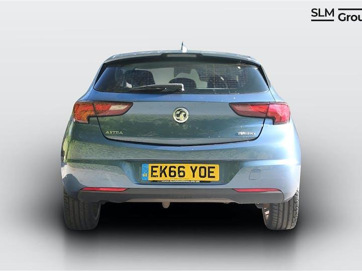 Blue Vauxhall Astra 1.4 Elite Nav 2016