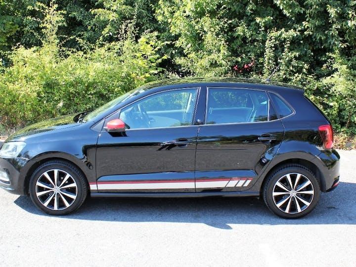 Black Volkswagen Polo Beats 2017