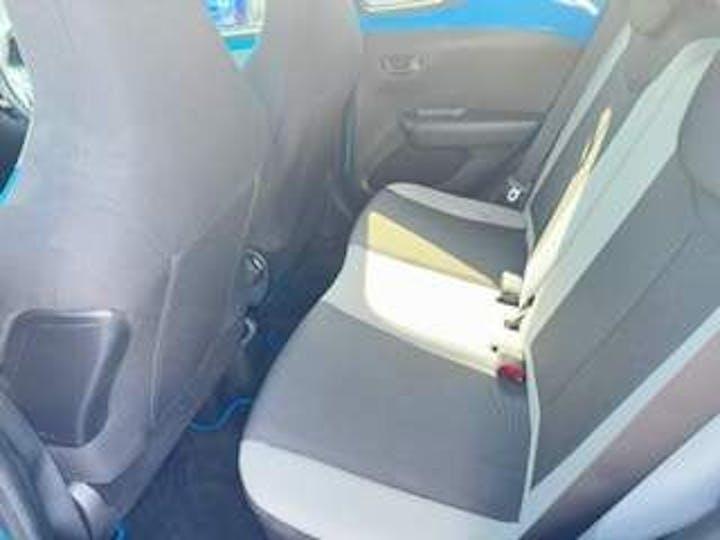 Blue Toyota Aygo VVT-i X-cite 2 2016