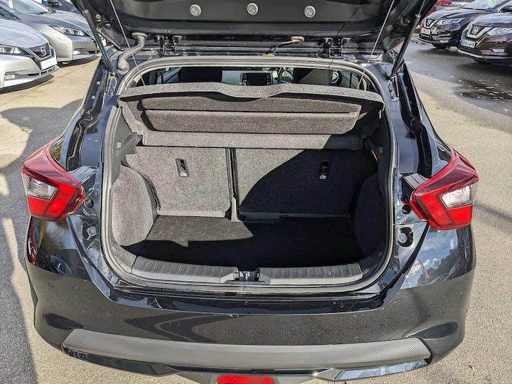 Black Nissan Micra Ig-t N-connecta 2019