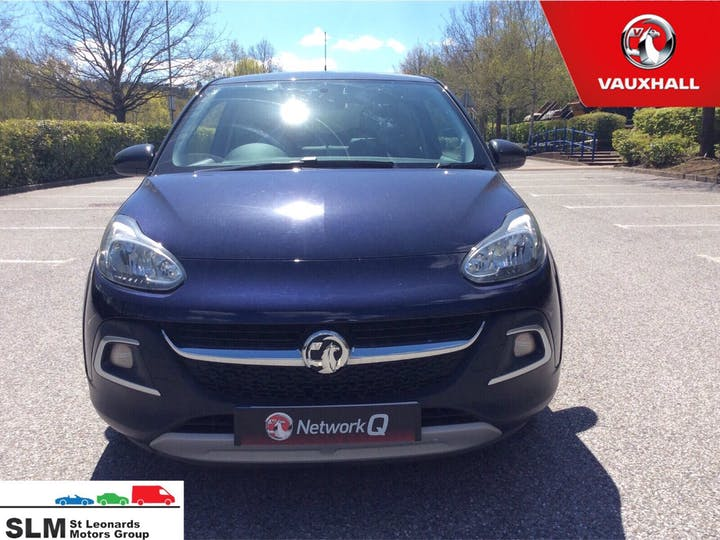 Blue Vauxhall Adam 1.4 Rocks 2015